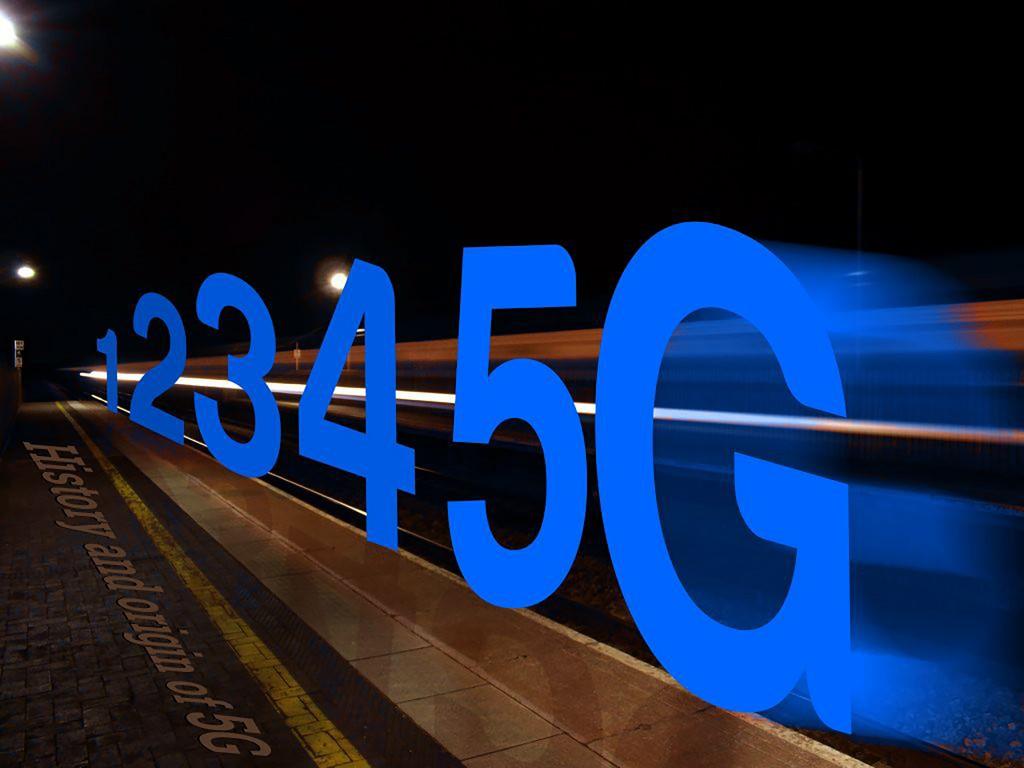 誰能稱霸5G時代?(圖/中央社)