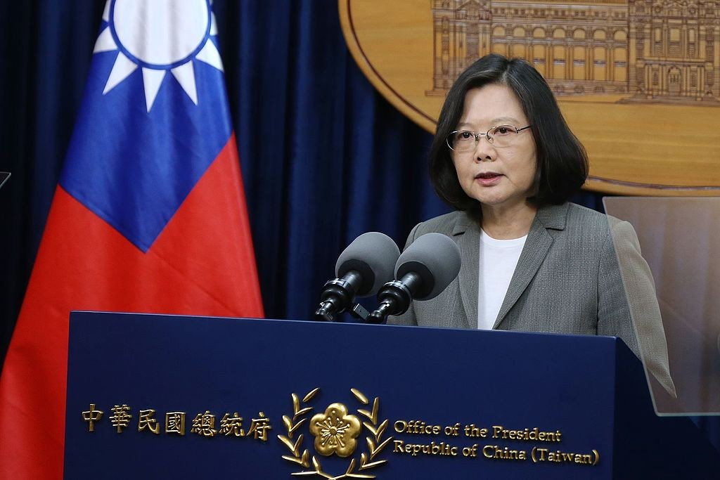 The time is right for Taiwan's President Tsai to address the US Congress