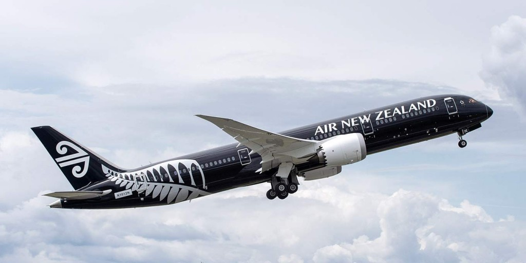 Air New Zealand aircraft.