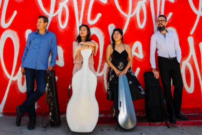 The quartet have met success in the U.S. (Image by Landmark String Quartet)