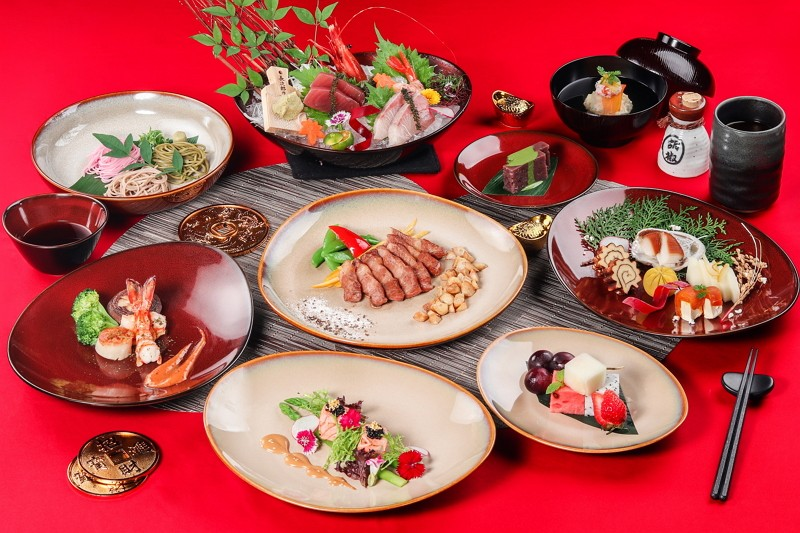 台南大員皇冠假日酒店 西洋情人節推日式鐵板套餐