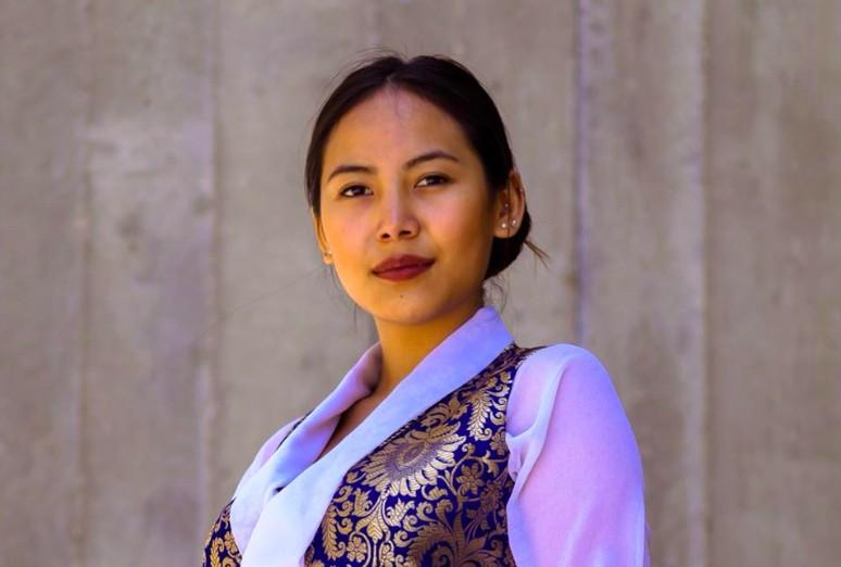 齊美拉姆(照片翻攝自Chemi Lhamo臉書: https://goo.gl/TQ8iUB)