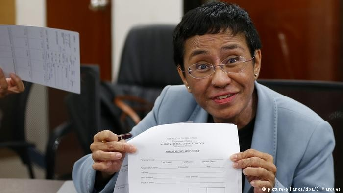 Journalist Maria Ressa (Deutsche Welle image)