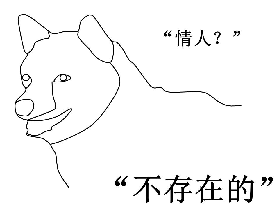 單身狗(圖片來源:維基百科)