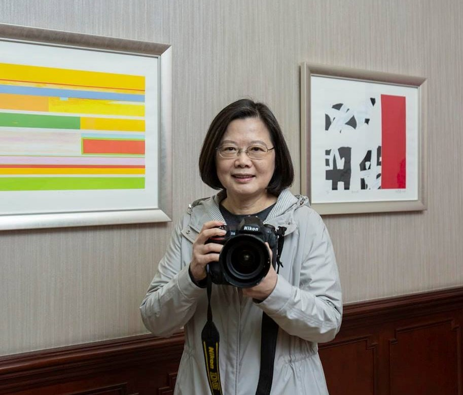 President Tsai Ing-wen (photo from her Facebook page)