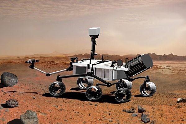 圖片為「機遇號」火星探測車(來源:NASA)