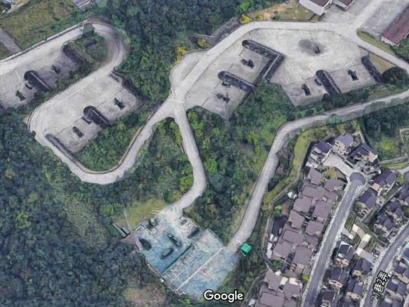 Patriot defense missile system on Google Maps (Google)