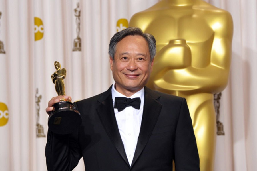 Ang Lee and his 2013 Oscar for 'The Life of Pi.'