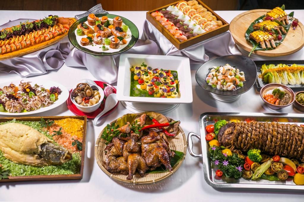 美麗信雨林餐廳《春食節氣 茗饌豪邁饗宴》