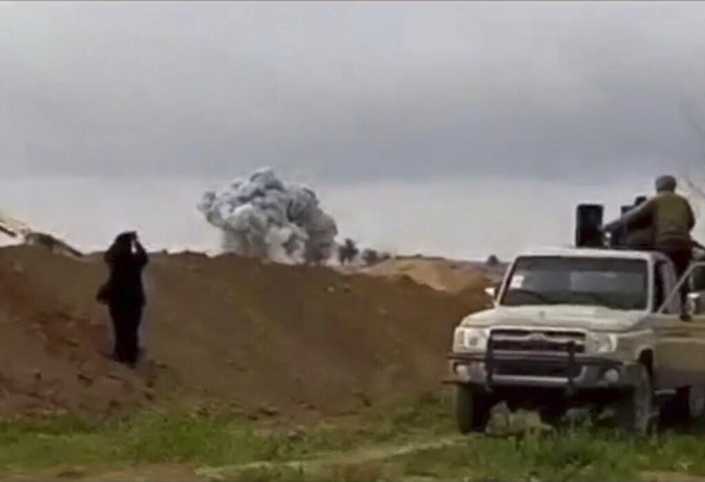 據報導,美國支持的武裝部隊已攻下伊斯蘭國最後一處據點。(美聯社)