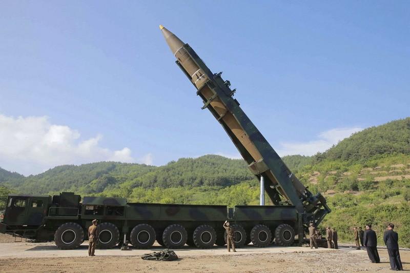 北韓導彈(圖/美聯社)