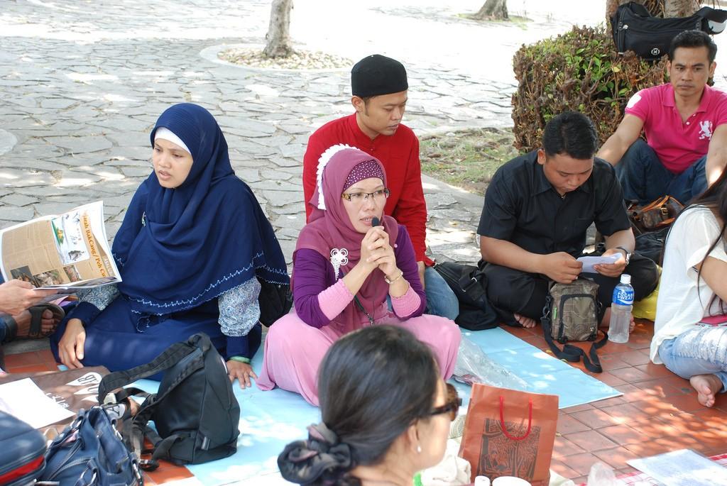 印尼移工示意圖,非當事人(圖片來源:Flickr)