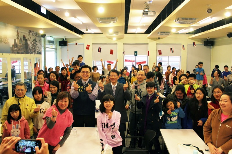 Taiwan Nat. Immigration Agency holds Lantern Fest celebrations in Taipei (Photo/Global News for New Immigrants)