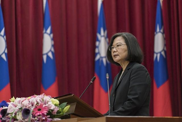 圖為總統蔡英文日前出席活動(照片來源:總統府提供)