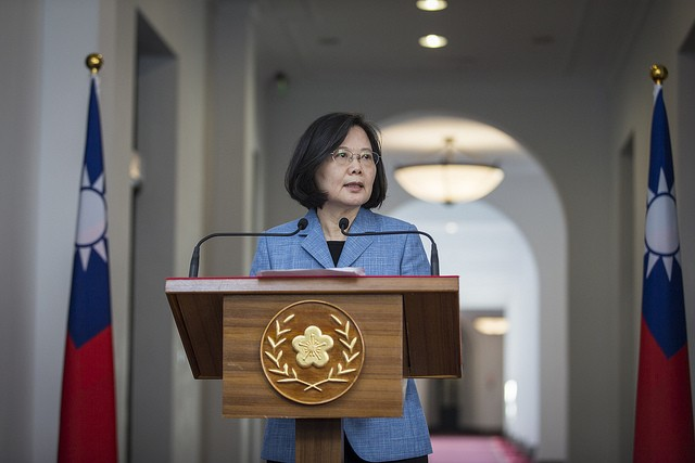 President Tsai Ing-wen (Source: Presidential Office)