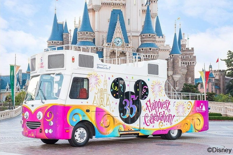 The parade will feature Tokyo Disney Resort 35th Anniversary Special Parade (Photo/Taipei City Department of Information and Tourism)