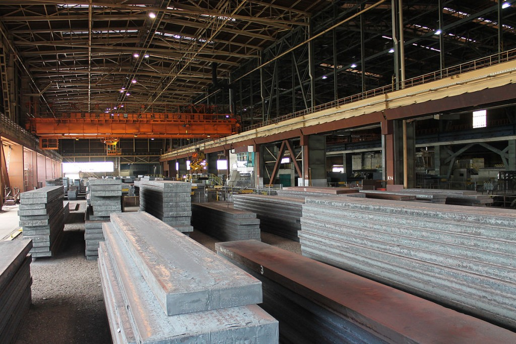 Steel slabs