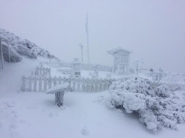 ▲下雪(來自CWB)