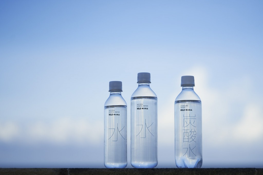 Muji mineral water. (Image from Muji website)