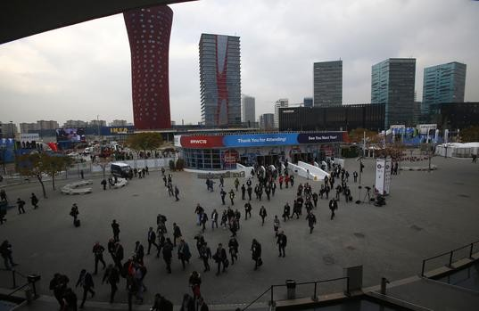 Last year's Mobile World Congress in Barcelona.