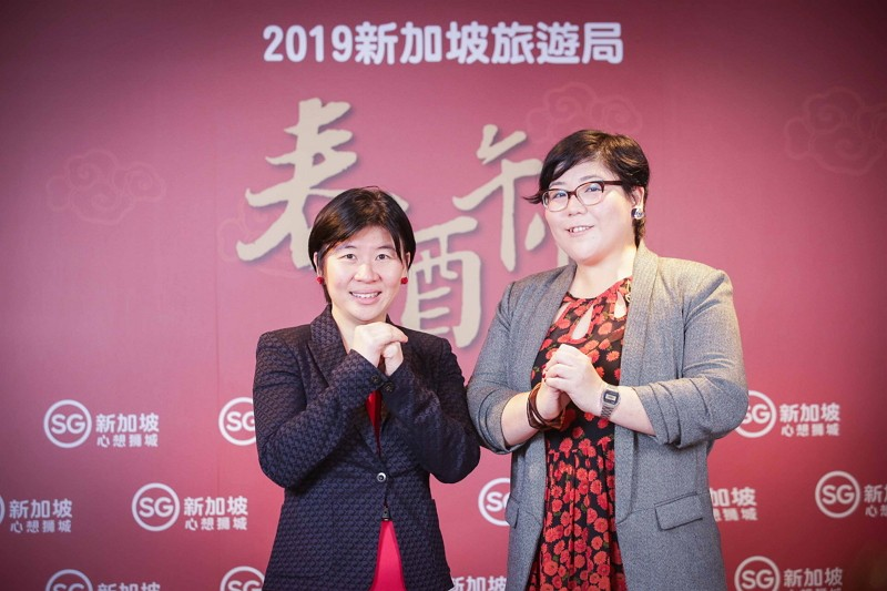 新加坡旅遊局大中華區署長(左)柯淑丹/香港澳門台灣區處長林曉芬