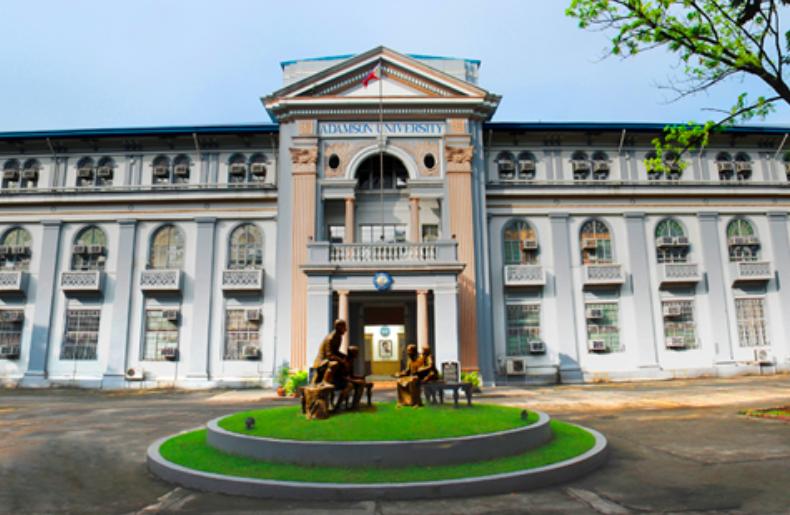 菲律賓亞當遜大學舉辦87週年校慶「世界美食展」活動(圖/亞當遜大學臉書)