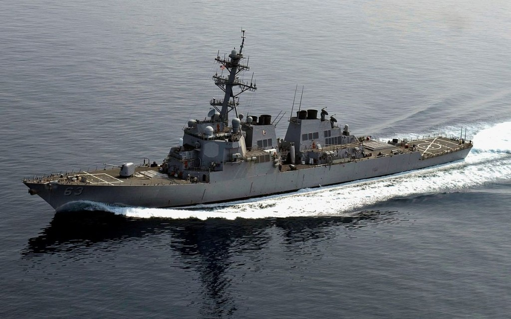 U.S. Navy ships pass through strategic Taiwan Strait, riling China