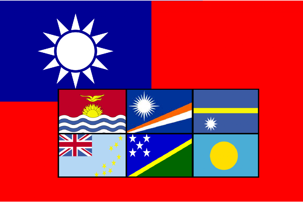 Taiwan's Pacific allies propose Taipei and Beijing receive equal diplomatic recognition