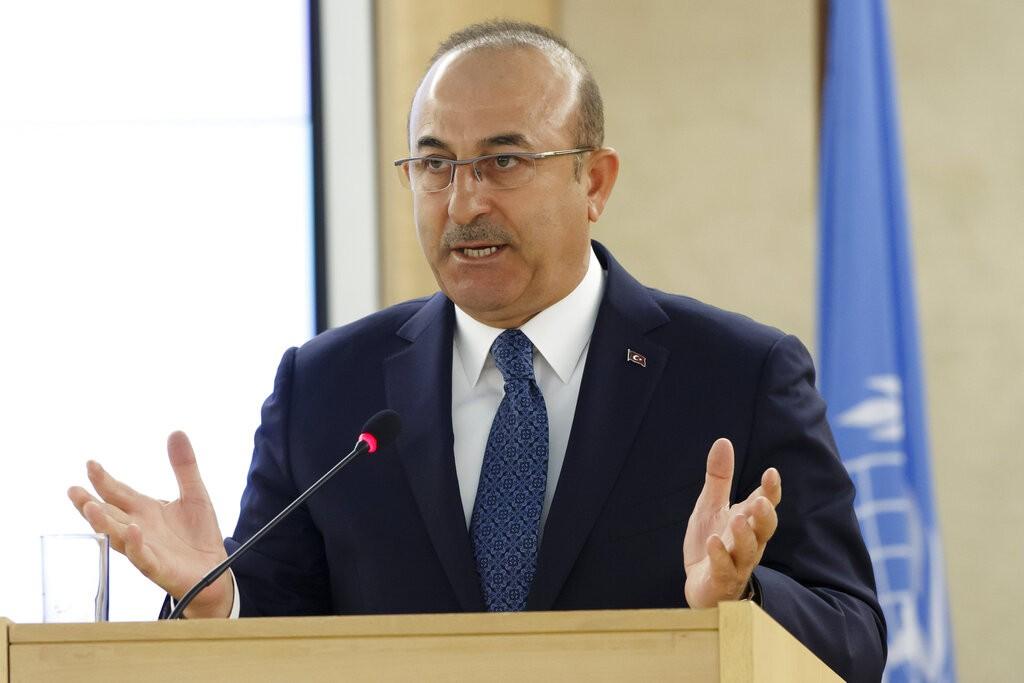 土耳其外交部長卡夫索格魯(Mevlut Cavusoglu)(圖/美聯社)