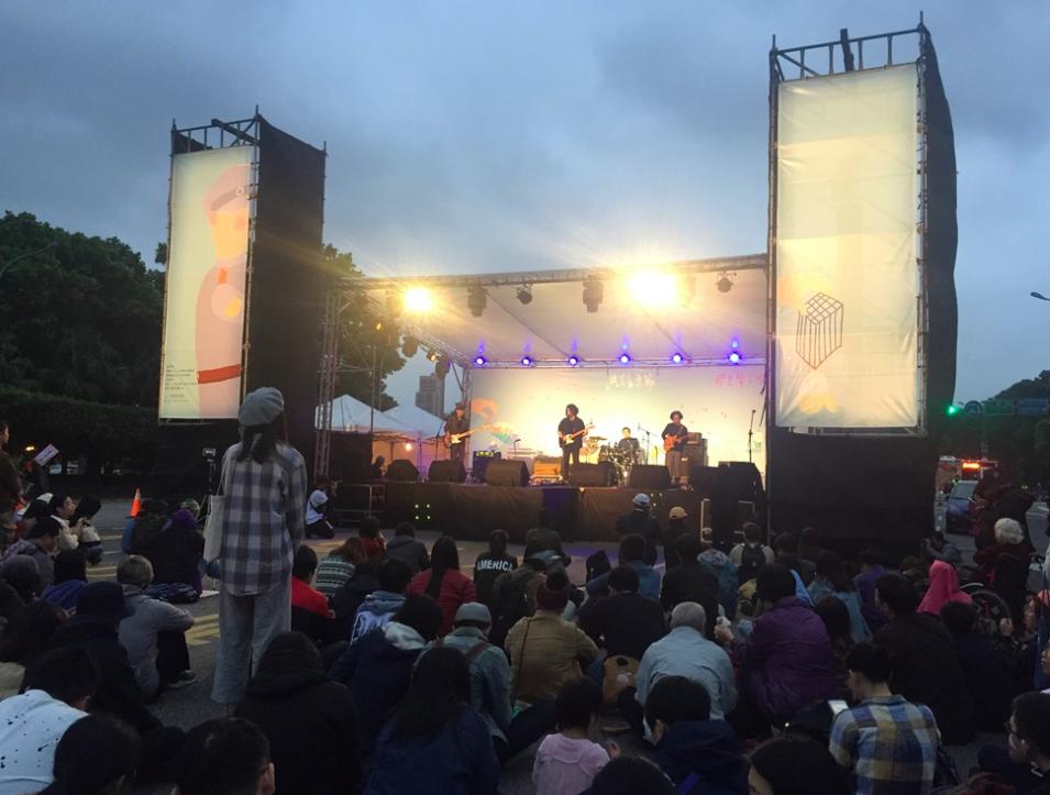 共生音樂節已於凱達格蘭大道圓滿落幕(圖/台灣英文新聞 Lyla)