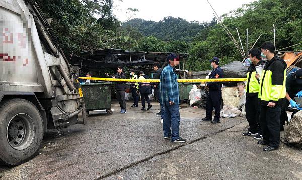 Site where the child's body was found