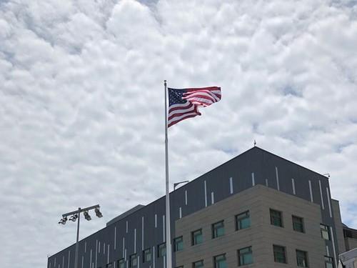 美國在台協會內湖新址(照片來源:中央社提供)