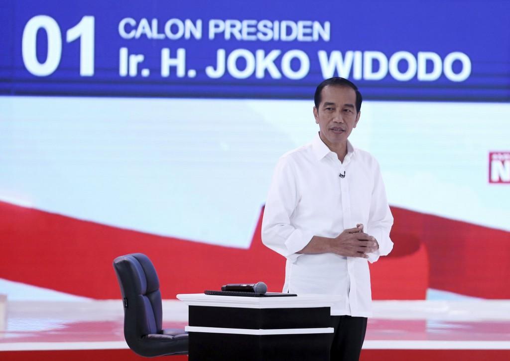 印尼現任總統佐科威。(美聯社)