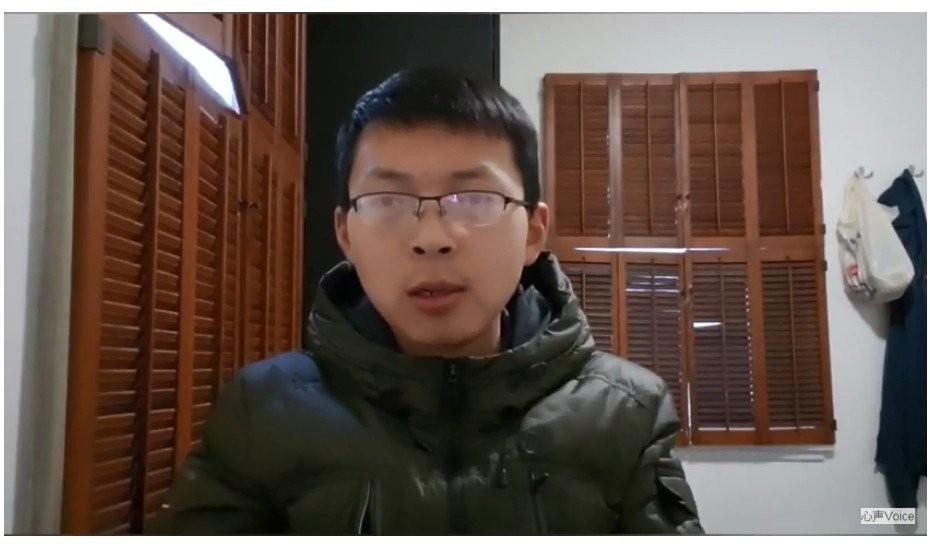 (Screenshot from Vlog心声  Youtube video)