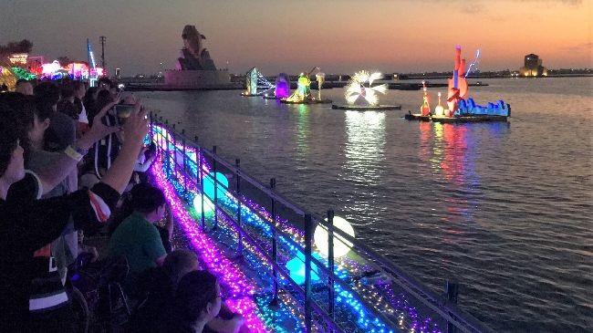 屏東燈會(圖片來源:中央社)