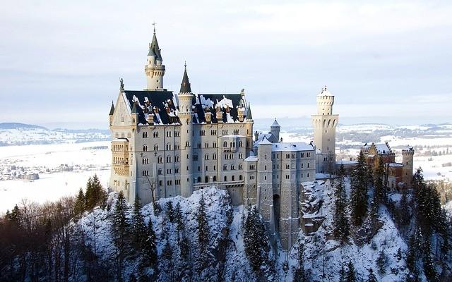 德國新天鵝城堡(照片來源:Pixabay)