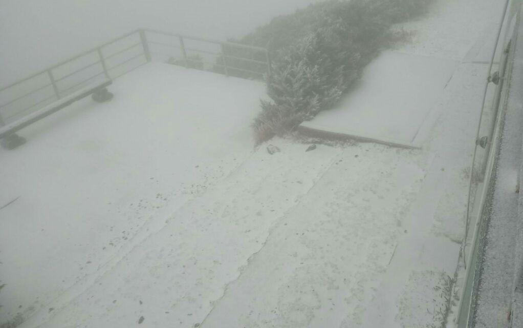 圖片來源:玉山北峰氣象站資訊