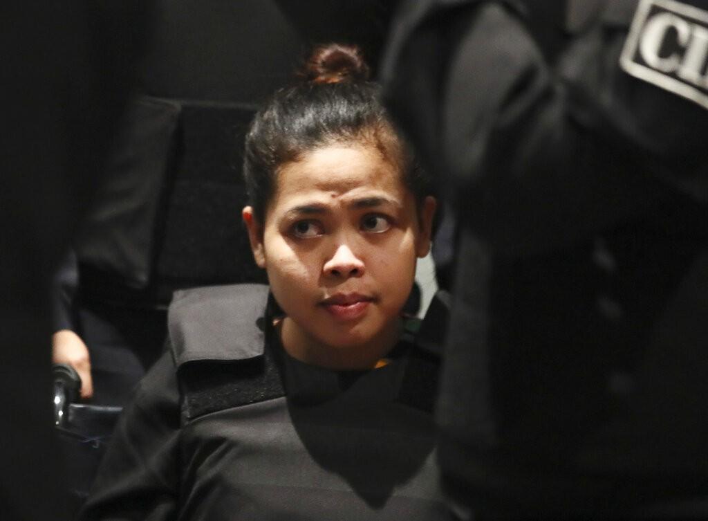涉嫌暗殺金正男的印尼籍女子艾希亞。(美聯社)