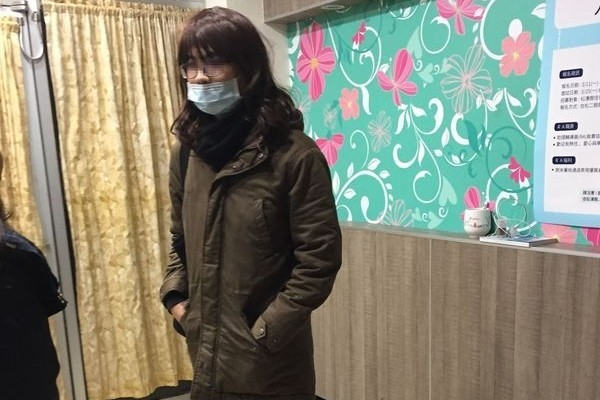 Suspect in his disguise. (Photo from New Taipei City Police Department)
