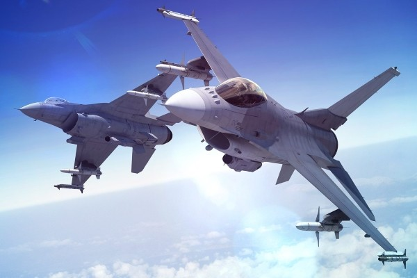 F-16V fighters. (Image from lockheedmartin.com)