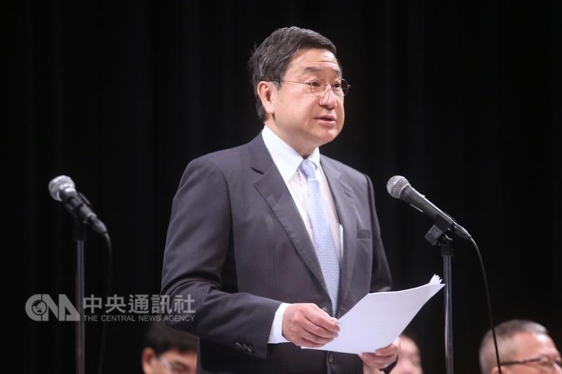 台泥集團董事長張安平。(中央社)