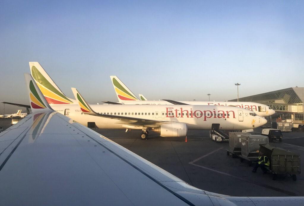圖片顯示衣索比亞航空公失事同型機。(圖片來源:美聯社)
