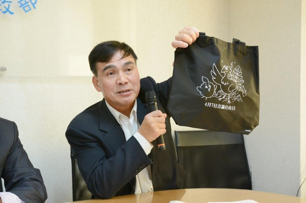 內政部民政司長林清淇。(照片由內政部提供)