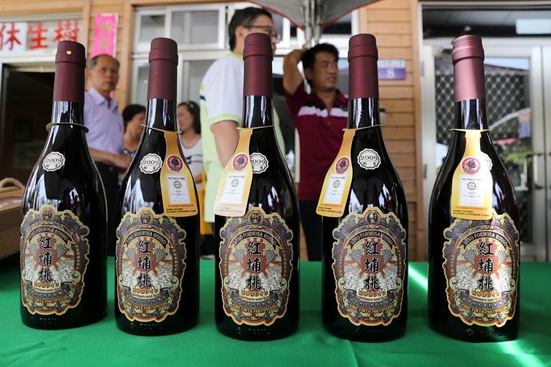 樹生紅埔桃酒(圖/台中市政府)
