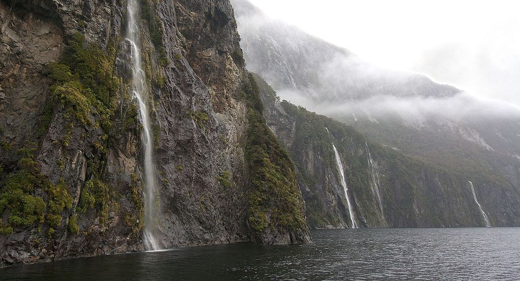 Milford Sound in New Zealand (photo by Lawrence Murray)