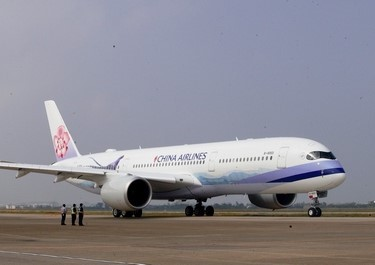 A China Airlines Airbus A350-900
