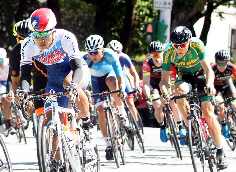 (photo courtesy of Chinese Taipei Cycling Association)