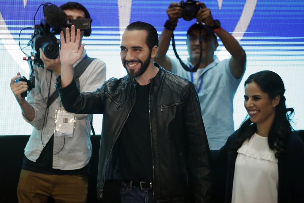 President-elect of El Salvador, Nayib Bukele