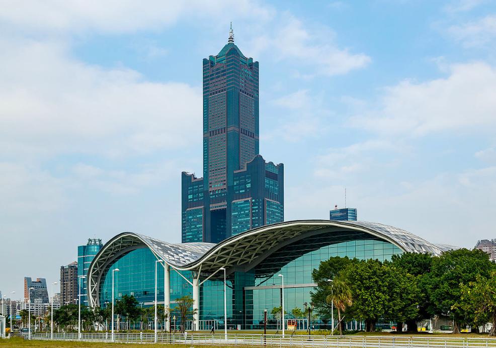 海霸王第二代砸54億標得高雄85大樓(圖/維基百科)