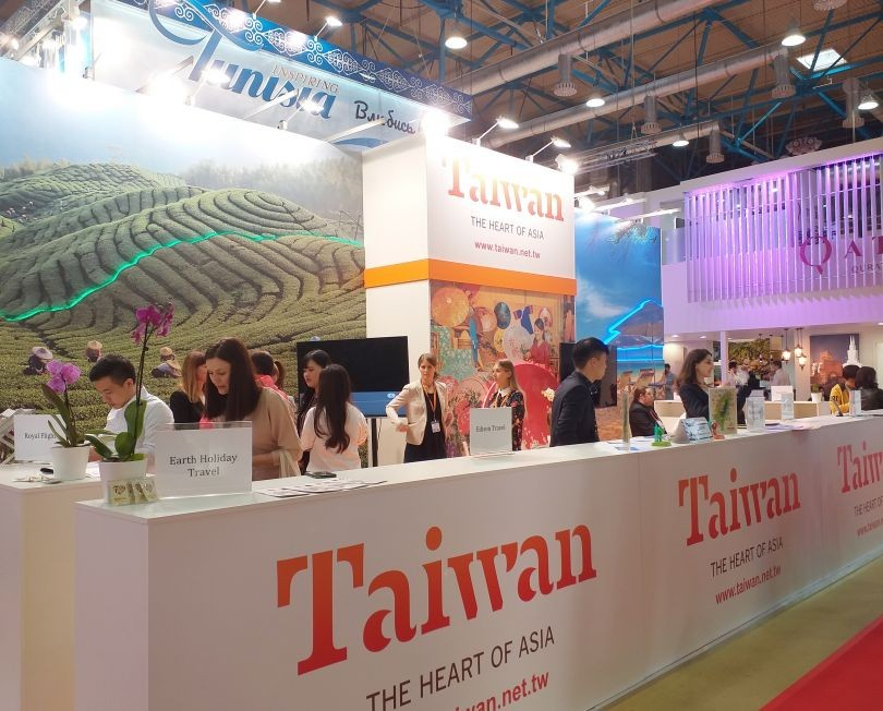 Taiwan is present at the Moscow travel expo.